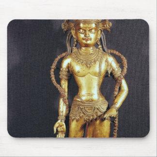 Bodhisattva Avalokitecvara, 15th-16th century Mouse Mat