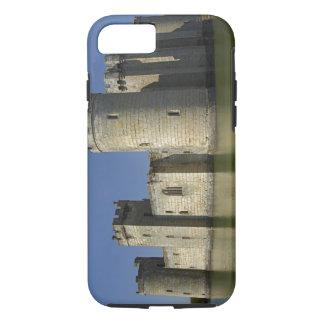 Bodiam Castle (1385), reflected in moat, East iPhone 8/7 Case