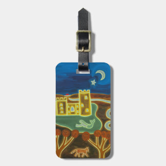 Bodiam Castle by Moonlight 2010 Bag Tag