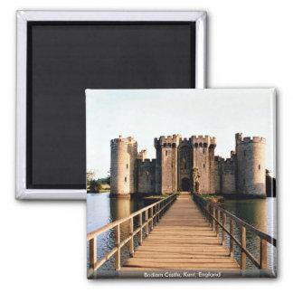 Bodiam Castle, Kent, England Square Magnet