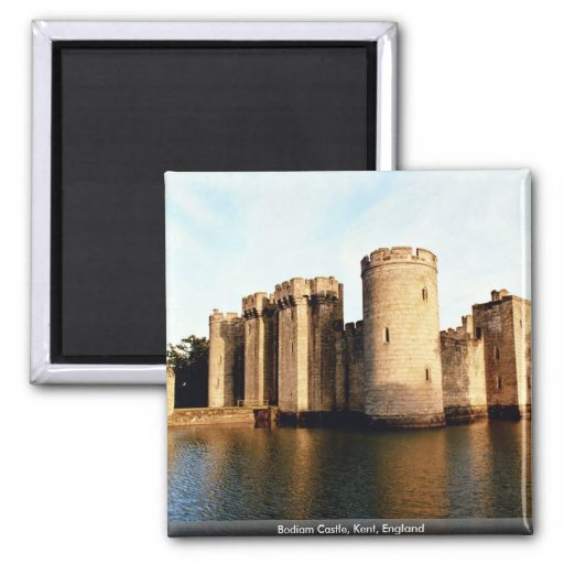 Bodiam Castle, Kent, England Magnets