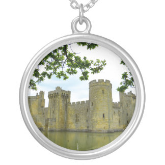 Bodiam Castle Silver Plated Necklace