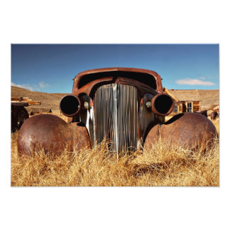 Bodie Abandoned Car Photographic Print