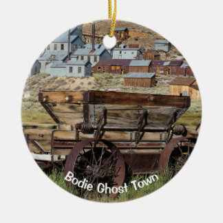 Bodie Ghost Town California Christmas Ornament