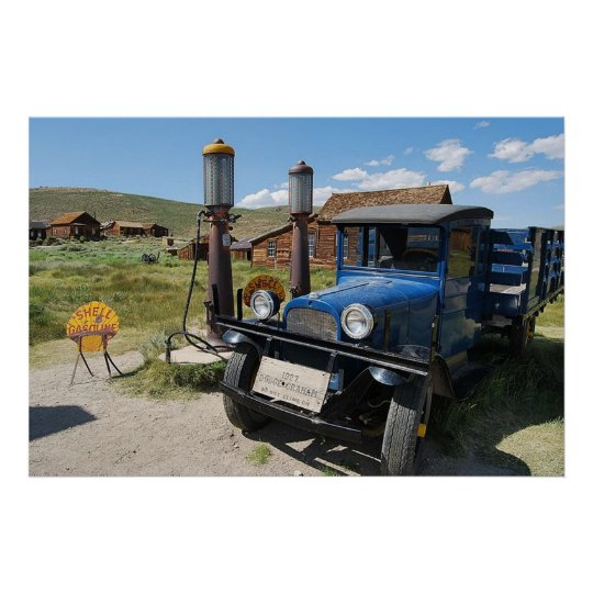 Bodie ghost town gas stop poster from 8.99