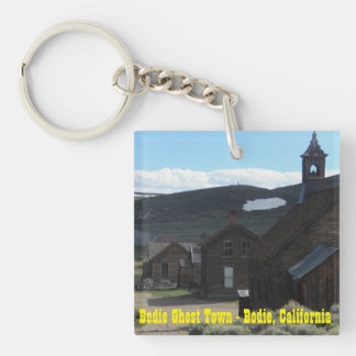 Bodie Ghost Town Key Ring