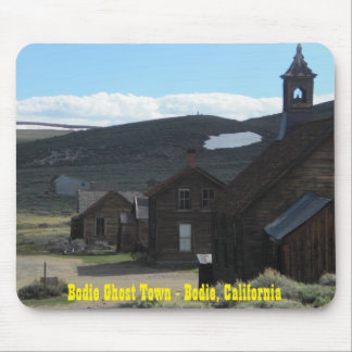 Bodie Ghost Town Mouse Pad