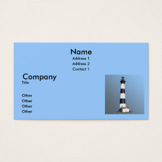 Bodie Island Lighthouse Business Card