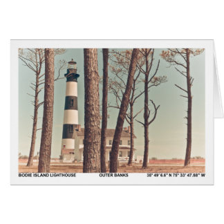 Bodie Island Lighthouse. Greeting Card