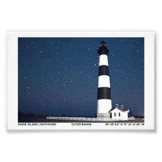 Bodie Island Lighthouse. Photograph