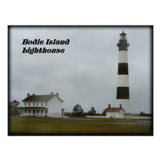 BODIE ISLAND LIGHTHOUSE-POSTER