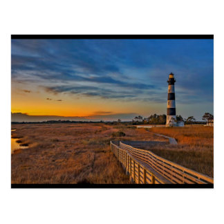 Bodie Lighthouse, North Carolina Postcard