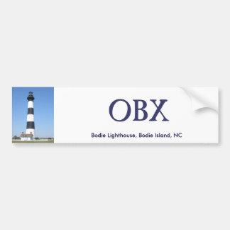 Bodie Lighthouse OBX Bumper Sticker Car Bumper Sticker