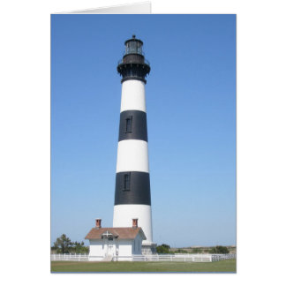 Bodie Lighthouse Outer Banks NC Note Card