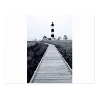 bodie lighthouse postcard