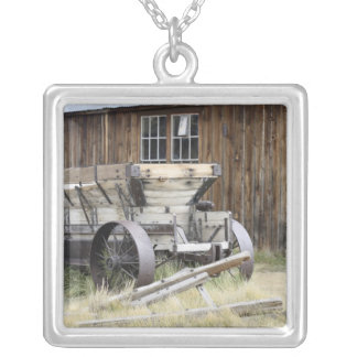 Bodie State Historic Park, CA Silver Plated Necklace