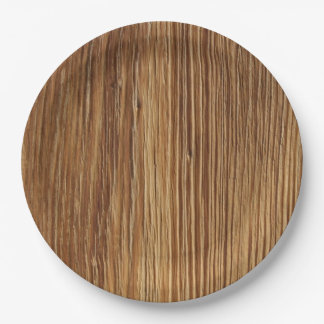BODIE WOOD 9 INCH PAPER PLATE