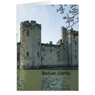Bodium Castle Greeting Card