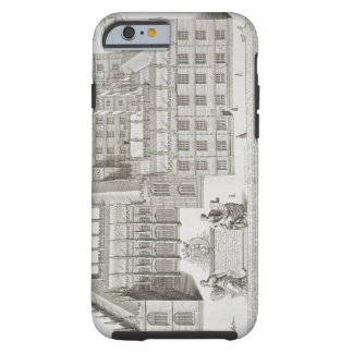 Bodleian Library, Oxford, from 'Oxonia Illustrata' Tough iPhone 6 Case