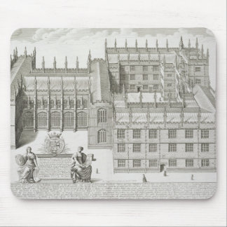 Bodleian Library, Oxford, from 'Oxonia Illustrata' Mouse Mat