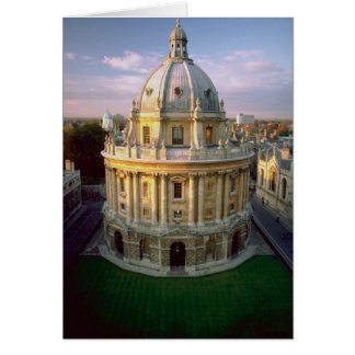 Bodleian Library, Oxford, U.K. Card