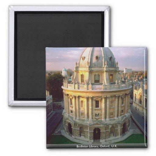 Bodleian Library, Oxford, U.K. Refrigerator Magnets