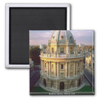 Bodleian Library, Oxford, U.K. Square Magnet