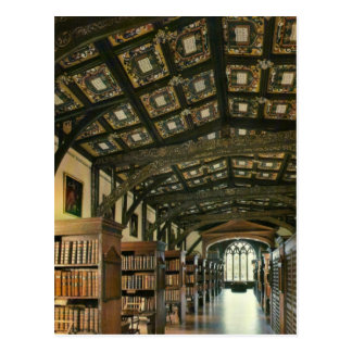 Bodlein Library, Oxford University, England Postcard