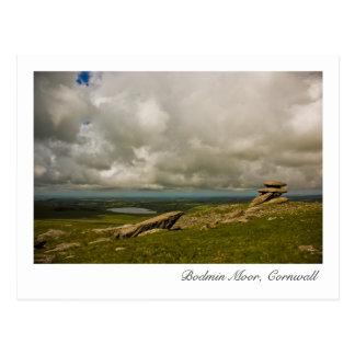 Bodmin Moor, Cornwall Postcard