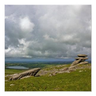 Bodmin Moor 5.25x5.25 Square Paper Invitation Card