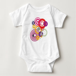 Body baby with circles baby bodysuit