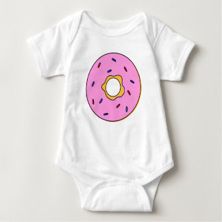 Body baby with doughnut design baby bodysuit