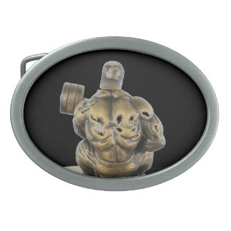 Body Builder belt buckle