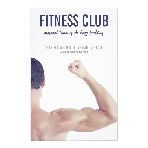 Body Building Gym Fitness Personal Training flyers