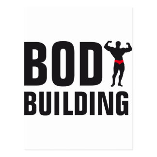 body building postkarten