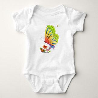 Body butterfly baby bodysuit