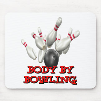 Body By Bowling Mouse Pad