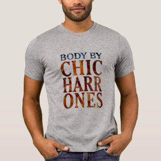 body by chicharrones pork funny t-shirt design