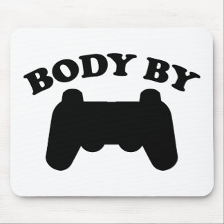 Body By Gaming Mouse Pad