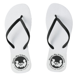 Body By Kristi Personal Training Flip Flops