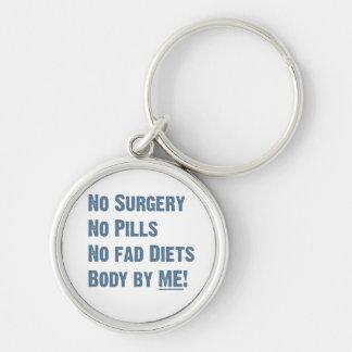Body by Me! Keychain