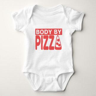 Body By Pizza Baby Bodysuit