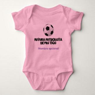 Body for baby soccer player baby bodysuit