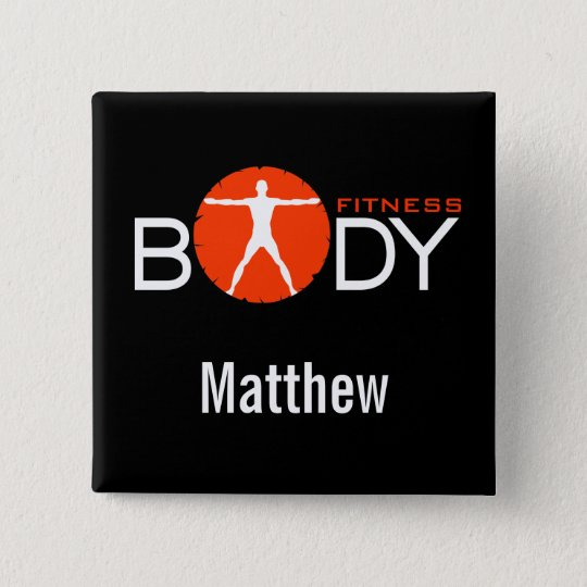 Body Madness Fitness Personal Trainer Name Buttons