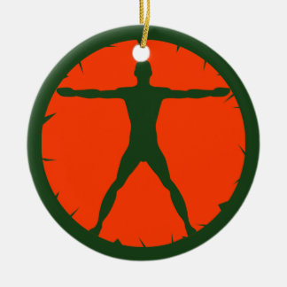 Body Madness Fitness Standard Round Ornaments Christmas Tree Ornaments