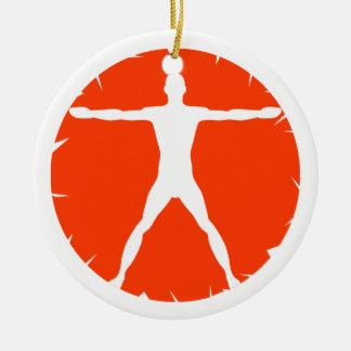 Body Madness Fitness Standard Round Ornaments Christmas Ornament
