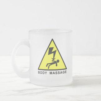 Body Massage Sign Mugs