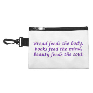 Body, Mind, and Soul Clip-On Bag Accessories Bags