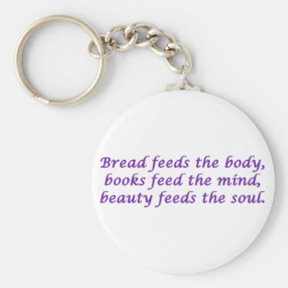 Body, Mind, and Soul Key Chain