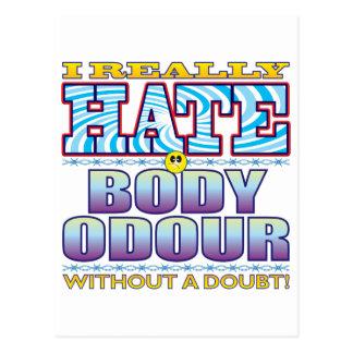 Body Odour Hate Face Postcard